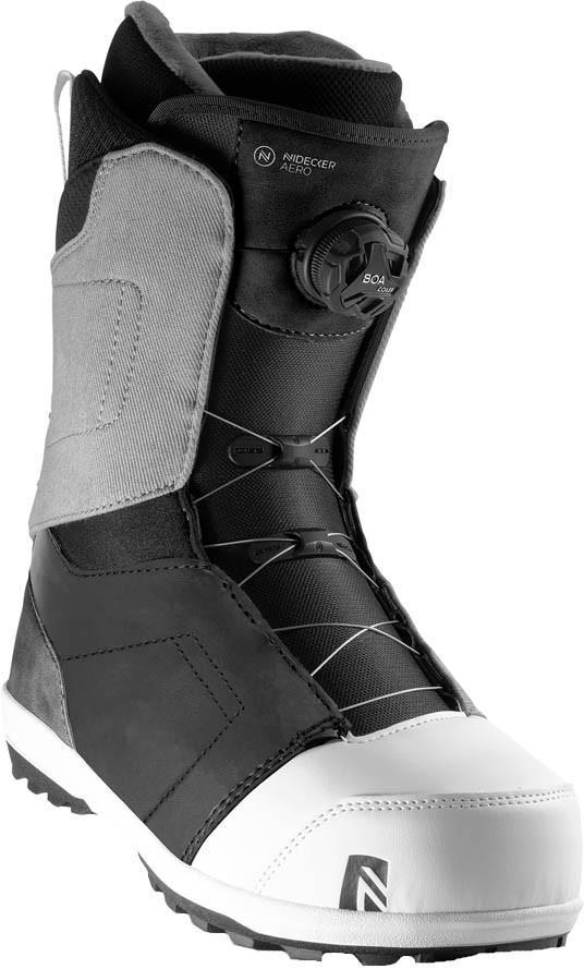 Nidecker Aero Boa Coiler Snowboard Boots, UK 8 Nickelgrey 2020