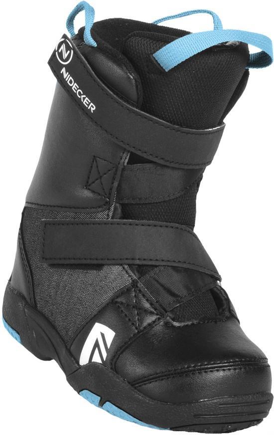 Nidecker Mini Micron Kid's Snowboard Boots, UK 10-11C Black 2020