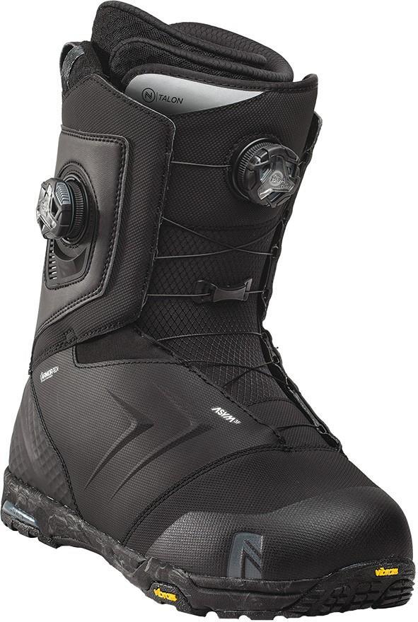 Nidecker Mens Talon Focus Boa Snowboard Boots, Uk 7 Black 2022
