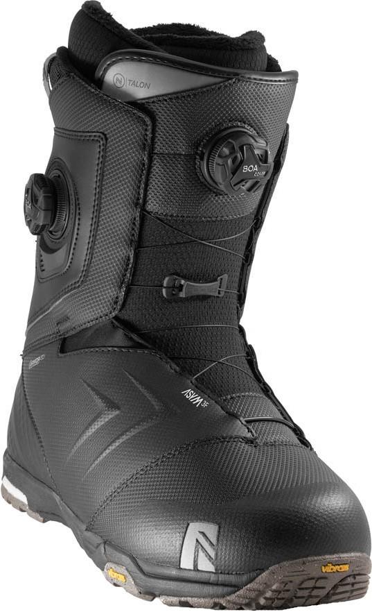 Nidecker Talon Focus Boa Snowboard Boots, UK 9.5 Black 2020