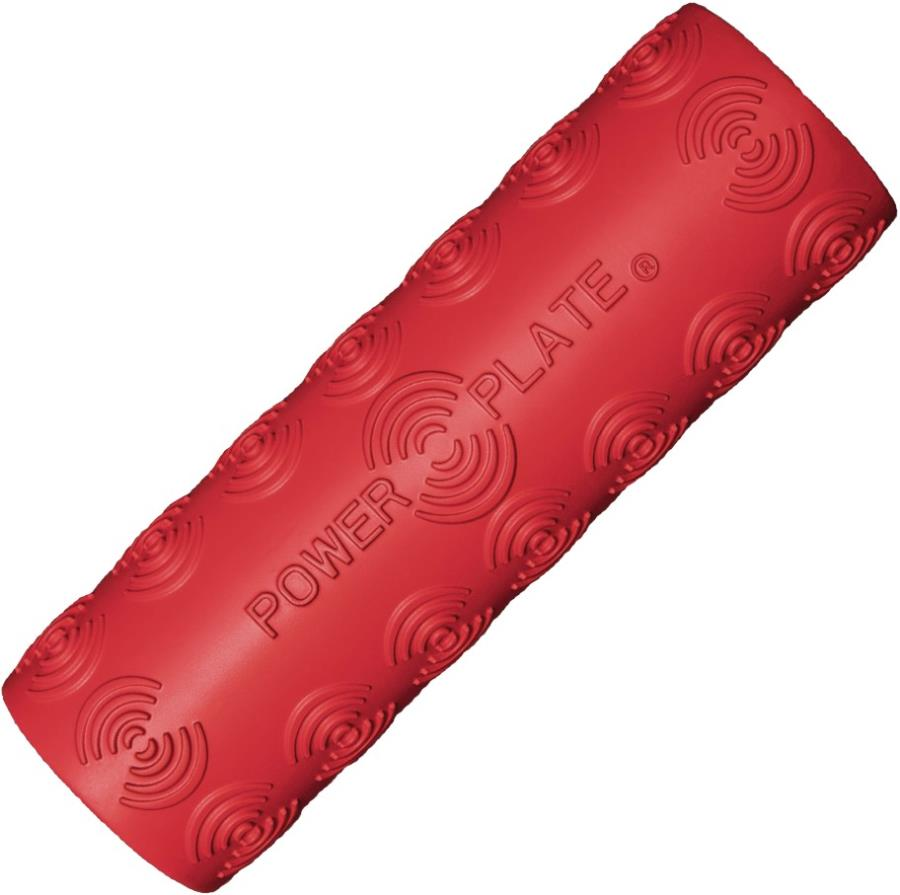 Power Plate Adult Unisex Roller Vibration Foam Massage Roller, One Size Red