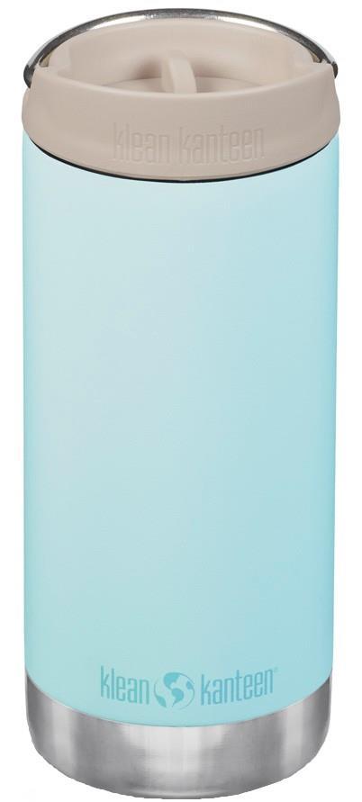 Klean Kanteen Insulated TKWide Cafe Cap Water Bottle 355ml Blue Tint