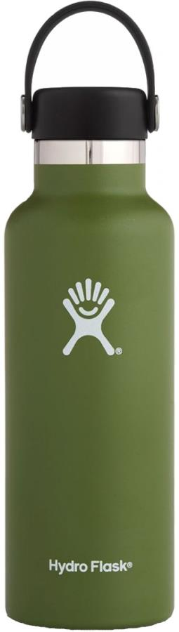 Hydro Flask 18oz Standard Mouth With Flex Cap Water Bottle 18oz Olive