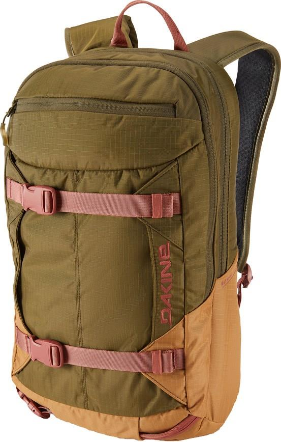 Dakine Womens Mission Pro Women's Snowboard/Ski Backpack, 18l Dark Olive