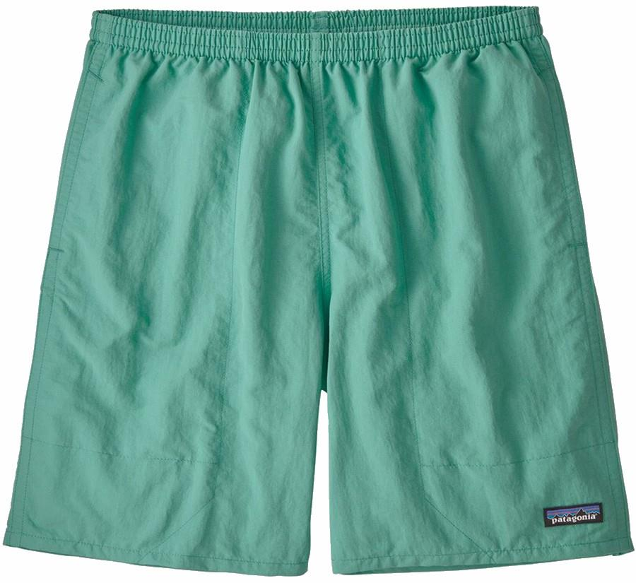 "Patagonia Adult Unisex Baggies Longs 7"" Swim Board Shorts, L Light Beryl Green"