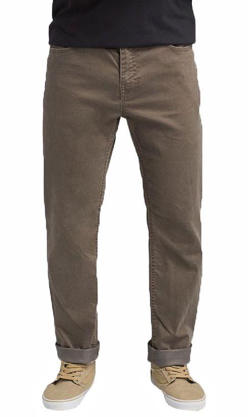 Prana Bridger Jeans Regular Hiking/Climbing Trousers, S Dark Mud