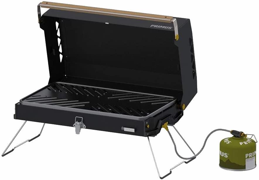 Primus Kuchoma Barbecue Portable Camping Grill, Black