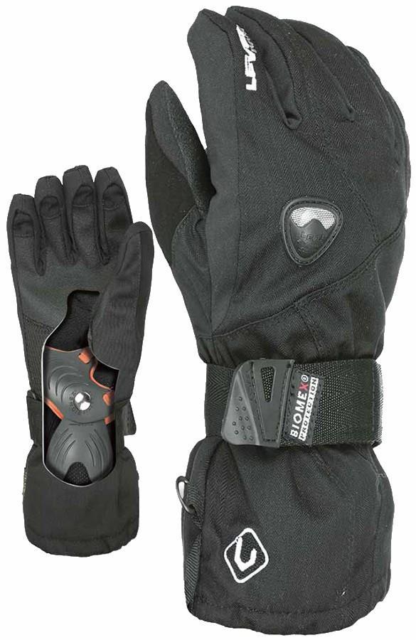 Level Fly Glove JR Kid's Snowboard/Ski Gloves, L Black