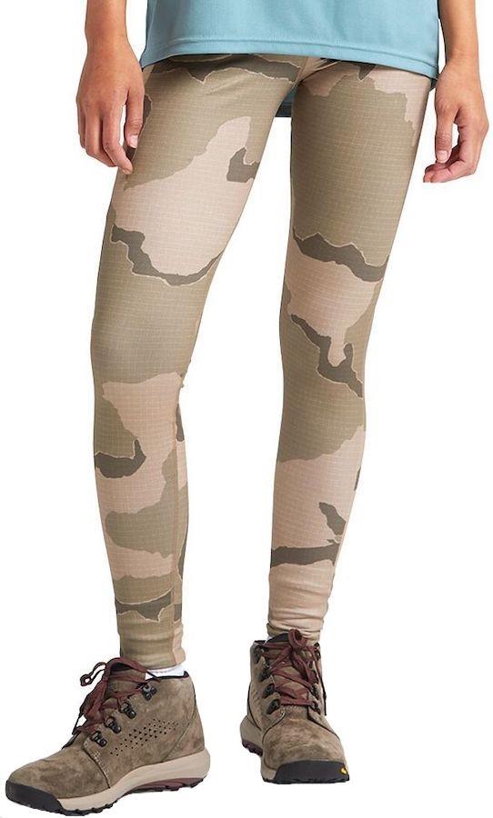 Burton Multipath Women's Activewear Leggings, UK 8-10 Barren Camo