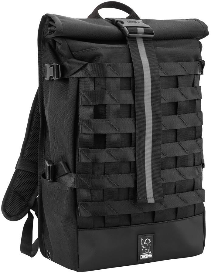Chrome Barrage Cargo Backpack, 22L Black/Chrome