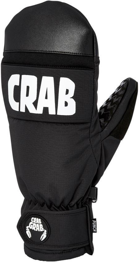 Crab Grab Punch Snowboard / Ski Mitts, Extra Large, Black