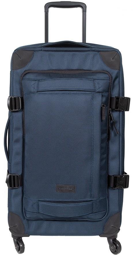 Eastpak Adult Unisex Trans4 L Wheeled Bag/Suitcase, 80l Cnnct Navy