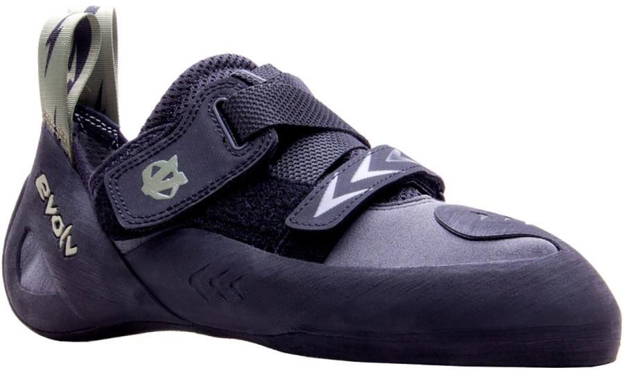 Evolv Kronos Rock Climbing Shoe : UK 10.5   EU 45, Black / Olive