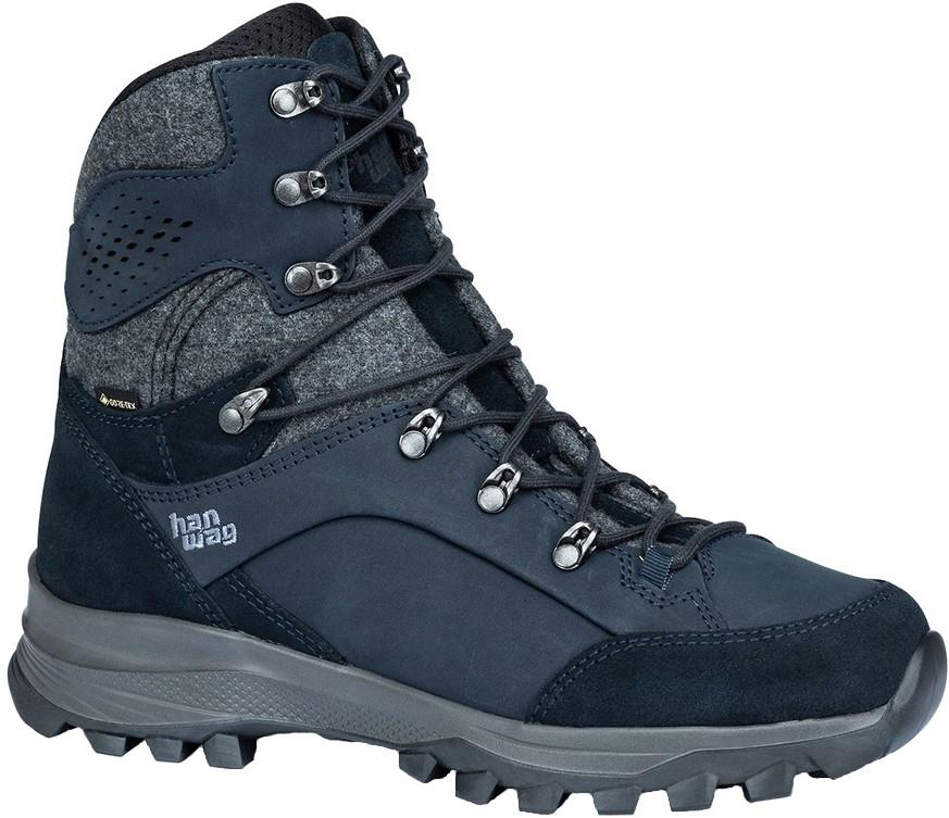 Hanwag Banks Winter Lady GTX Hiking/Mountaineering Boots UK 5.5 Navy