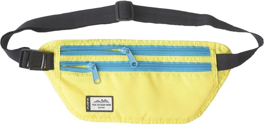 Kavu Hideaway Money Belt Waist / Bum Bag, 1l Banana Split