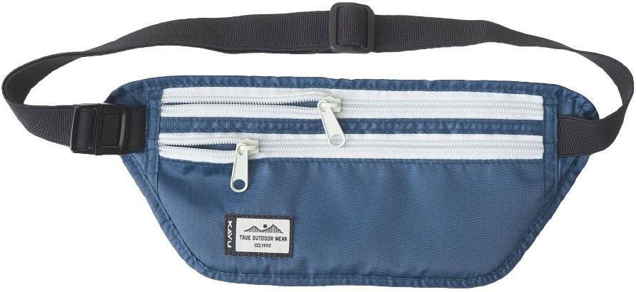 Kavu Hideaway Money Belt Waist / Bum Bag, 1l Sapphire