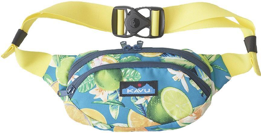 Kavu Spectator Bum/Hip/Waist Bag, 1l Ocean Citrus