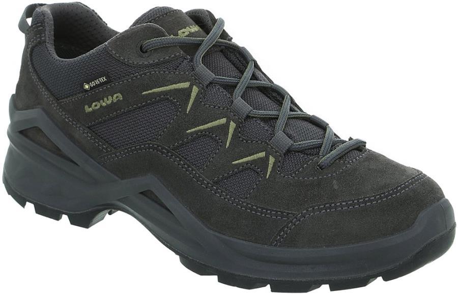 Lowa Sirkos Evo GTX Lo Men's Walking Shoes, UK 9.5 Anthracite