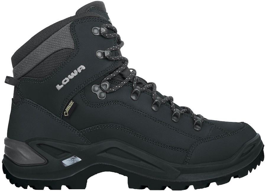 Lowa Renegade GTX Mid Wide Men's Hiking Boots, UK 8 Deep Black