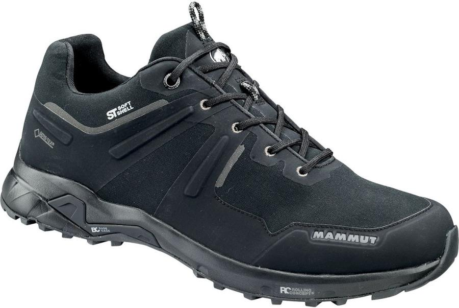 Mammut Ultimate Pro Low GTX Men's Approach Shoes, UK 7 Black/Black
