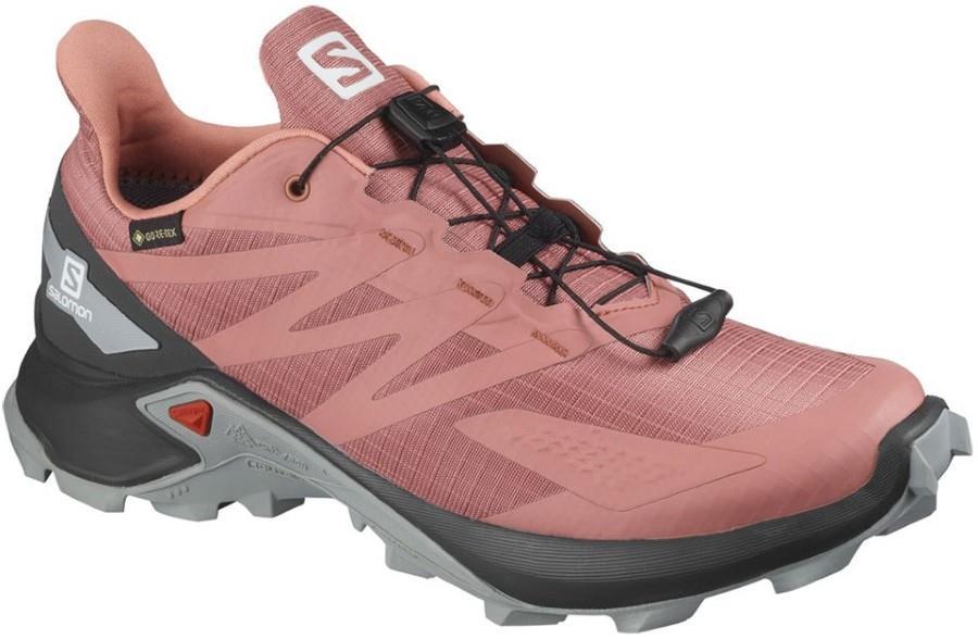 Salomon Supercross Blast Gore-Tex Women's Running Shoes, UK 4 Brick