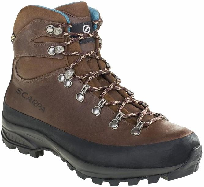 Scarpa Womens Trek Hv Gtx W High-Volume Hiking Boots, Uk 7 1/4, Eu 41 Brown/Blue