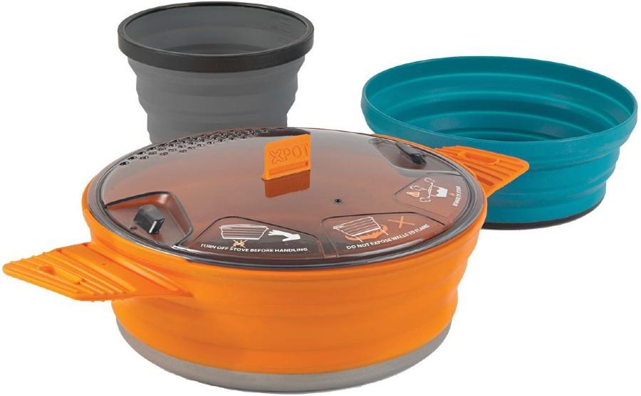 Sea to Summit X-Set 21 Camping & Backpacking Cookset