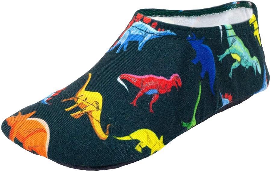 Slipfree Kids Non Slip Water Shoes, 18-36 Months Dino
