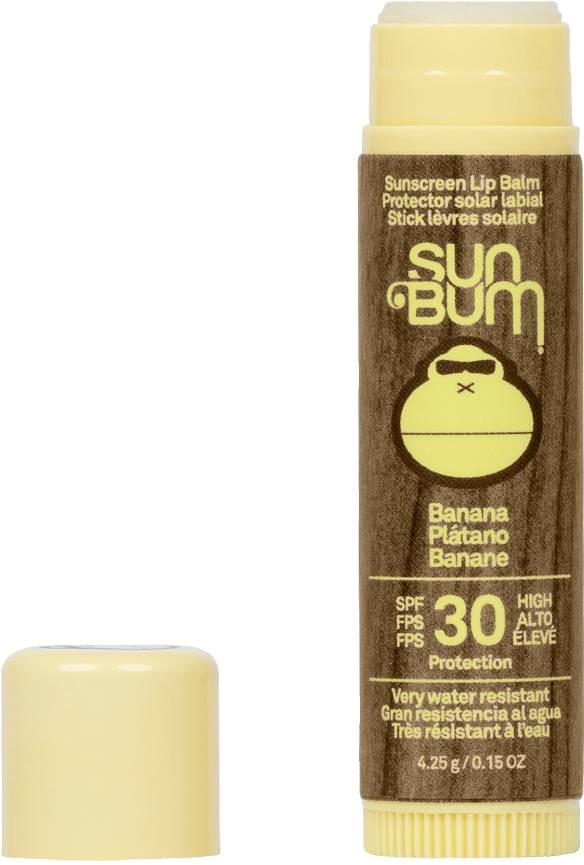 Sun Bum Original Spf 30 Banana Flavoured Sunscreen Lip Balm, Os