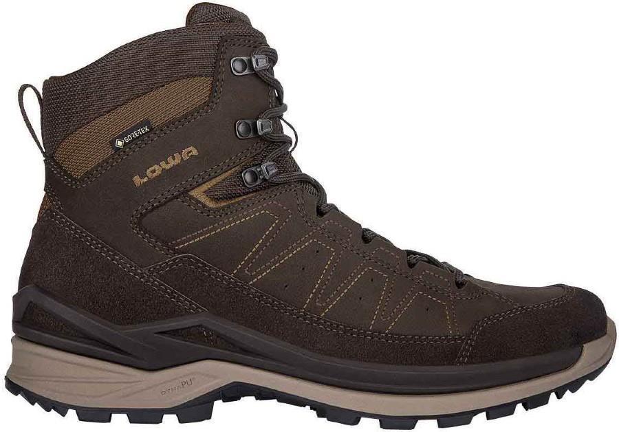 Lowa Adult Unisex Toro Evo Gtx Mid Men's Hiking Boots, Uk 12 Dark Brown/Taupe