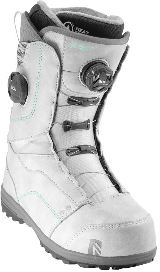 Nidecker Trinity Focus Boa Women's Snowboard Boots, UK 5.5 Grey 2020