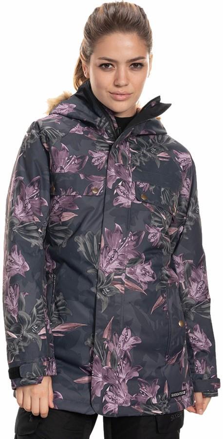 686 Dream Womens Snowboard/Ski Jacket, M Black Tiger Lily