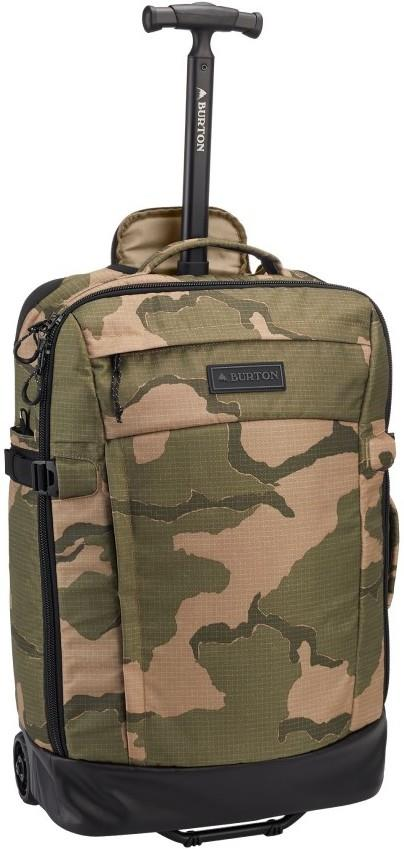 Burton Multipath Carry-On Travel Bag, 40l Barren Camo Ripstop