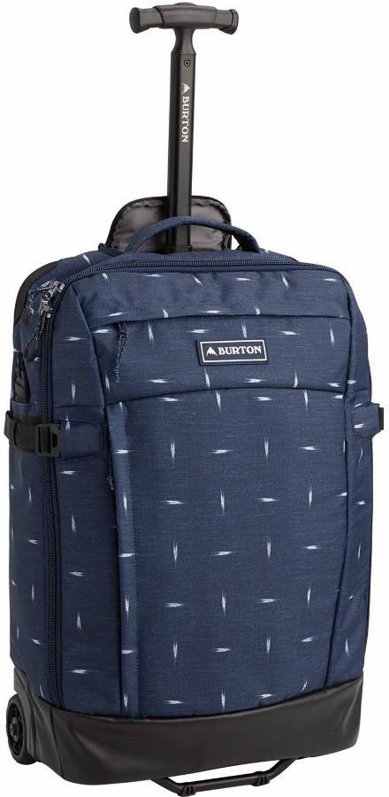 Burton Multipath Carry-On Travel Bag, 40L Dress Blue Basket Ikat