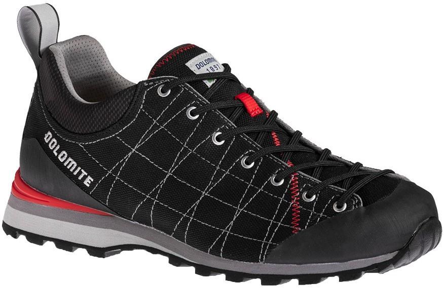 Dolomite Diagonal Lite Men's Approach Shoe, UK 7.5 Fiery Red