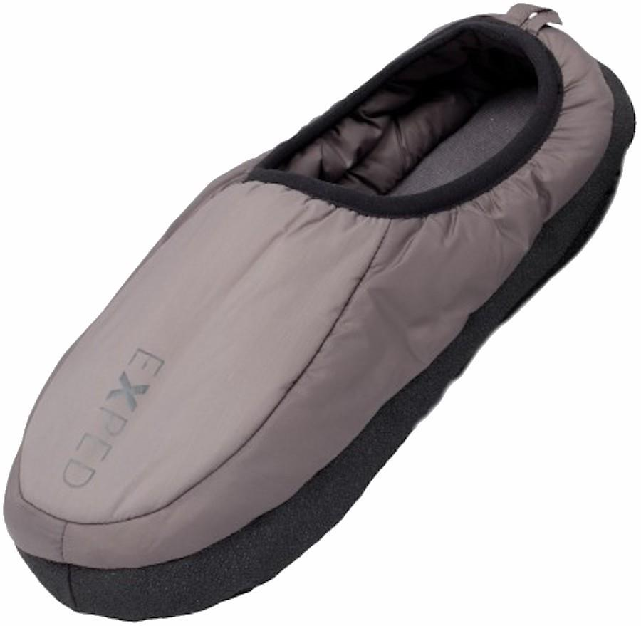 Exped Camp Slipper Camping/Tent Mules, UK 11-12 Charcoal