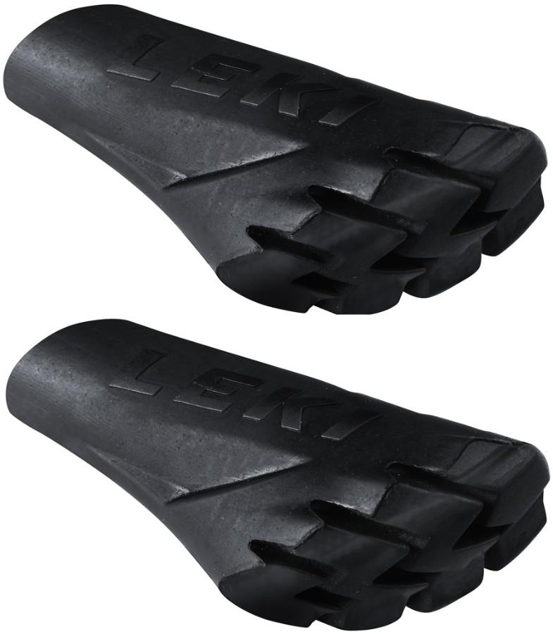 Leki PowerGrip Replacement Rubber Nordic Hiking Pole Pads/Ends Pair