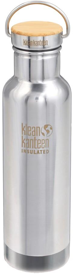 Klean Kanteen Reflect Insulated Water Bottle, 592ml Brushed Steel