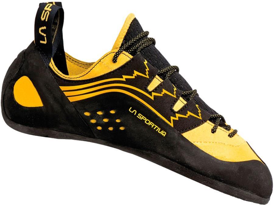 La Sportiva Katana Lace Rock Climbing Shoe, UK 2 | EU 34.5 Yellow