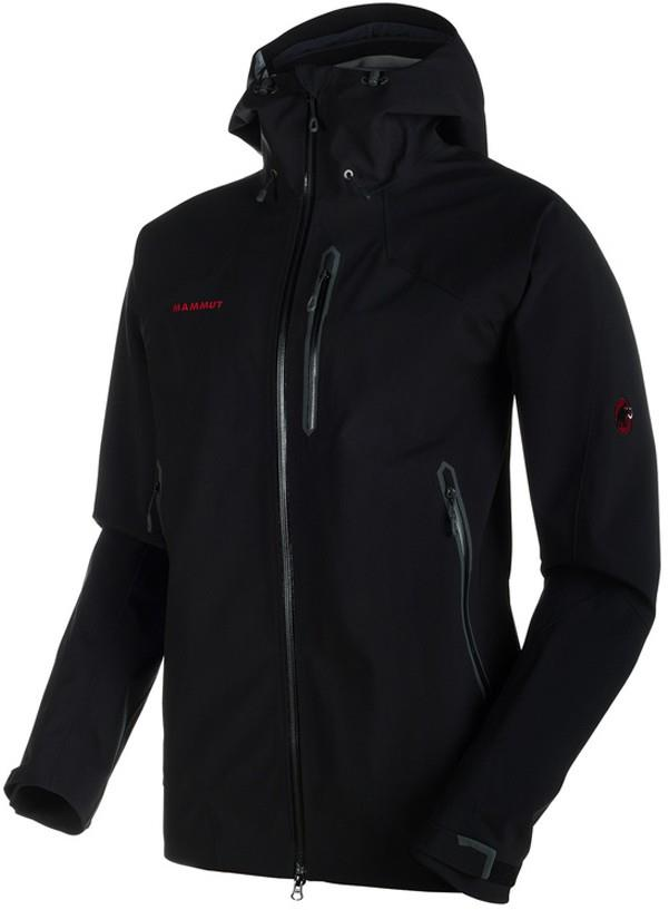 Mammut Masao Jacket Men's Waterproof Hard Shell, S Black