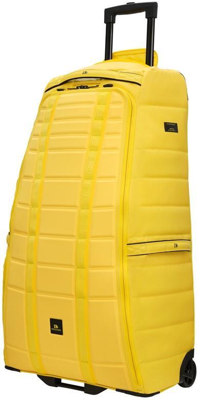 Douchebags The Big Bastard Wheeled Luggage Bag, 90L Brightside Yellow