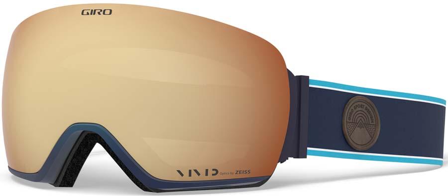 Giro Article Vivid Copper Ski/Snowboard Goggles, L Midnight Element