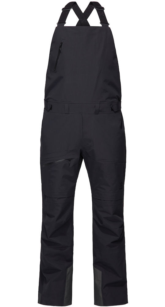 Haglofs Nengal 3L PROOF Snowboard/Ski Bib Pants, L True Black