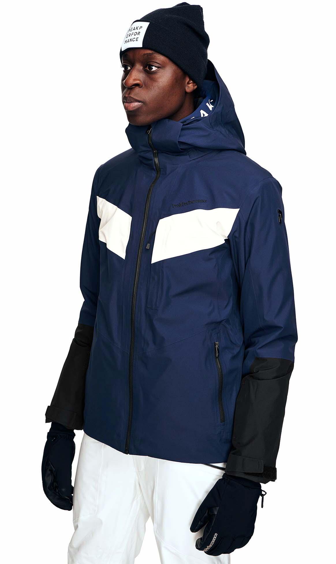 Peak Performance Peakville GTX Snowboard/Ski Jacket, L Blueprint
