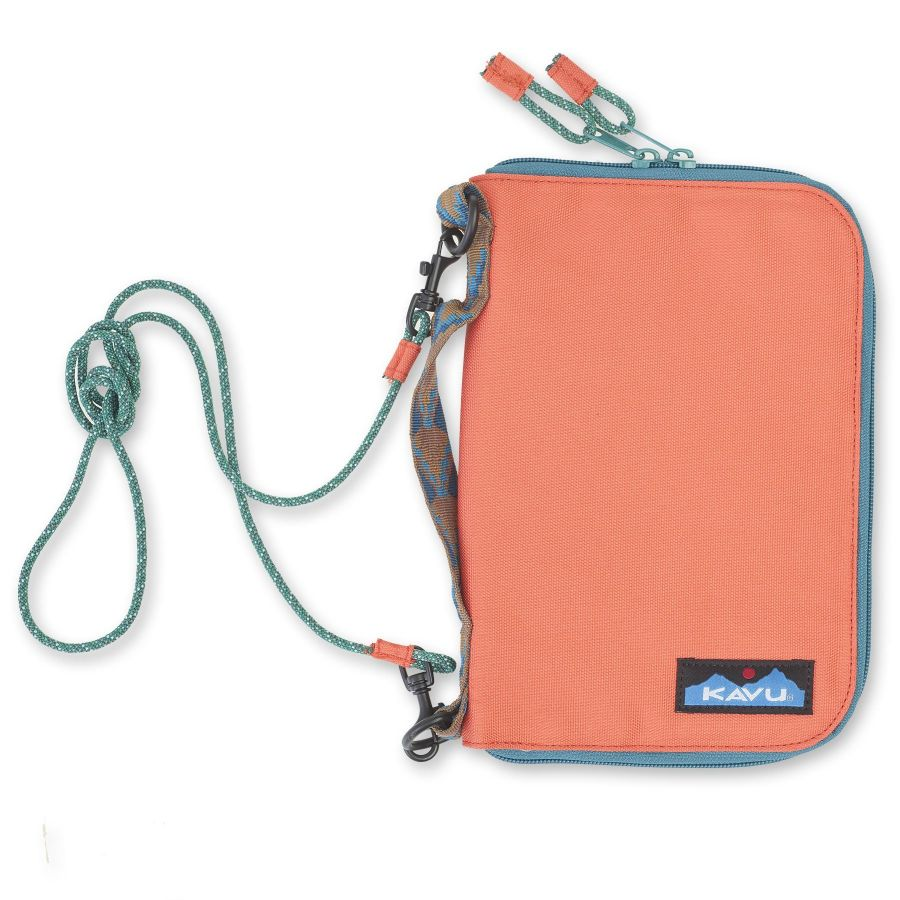 Kavu Jet City Bi-Fold Wallet Case OS Orange Pop