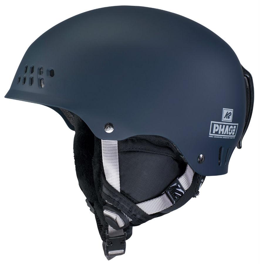 K2 Adult Unisex Phase Pro Ski/Snowboard Helmet, S Slate Blue