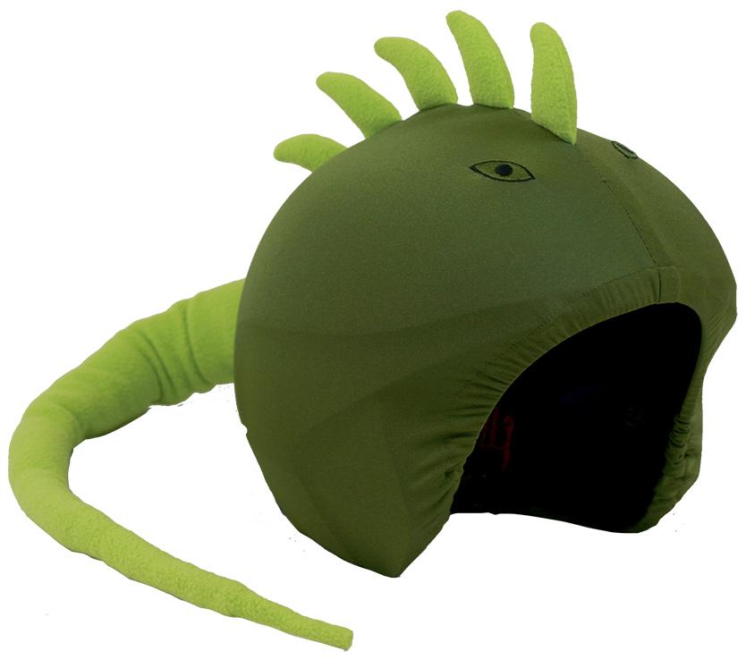 Coolcasc Animals Ski/Snowboard Helmet Cover, Iguana