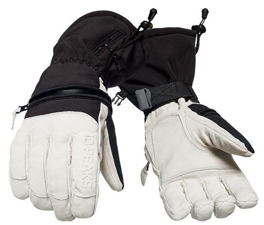 10 Peaks Mount Little Ski/Snowboard Gloves L Black/White