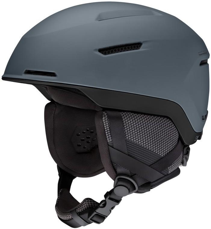 Smith Altus Snowboard/Ski Helmet, M Matte Charcoal Black