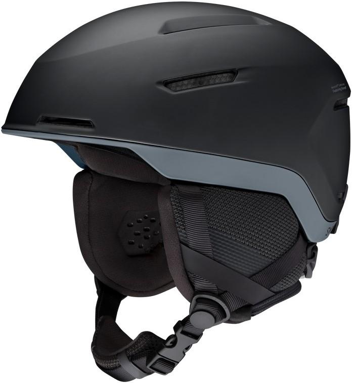 Smith Altus Snowboard/Ski Helmet, M Matte Black Charcoal